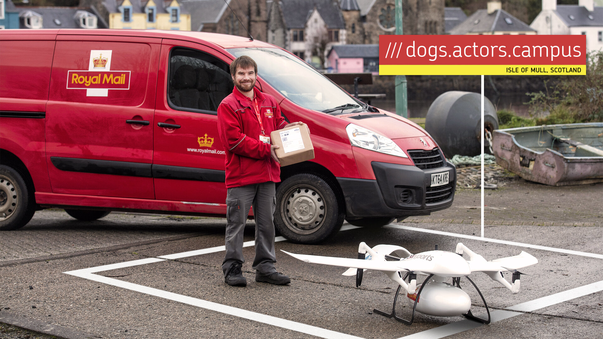 Drone Deliveries on the Isle of Mull