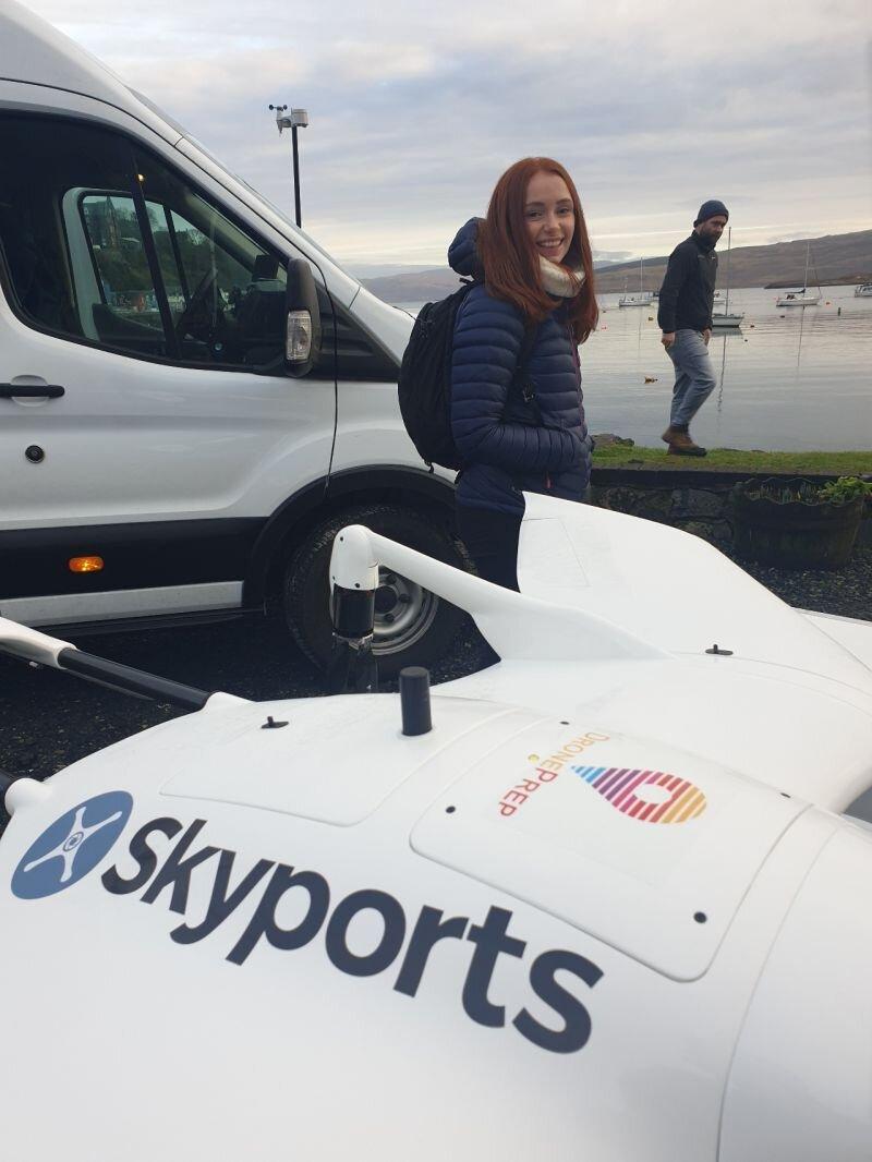 DronePrep Innovation Lead Emily Bratt shortlisted for an Airward