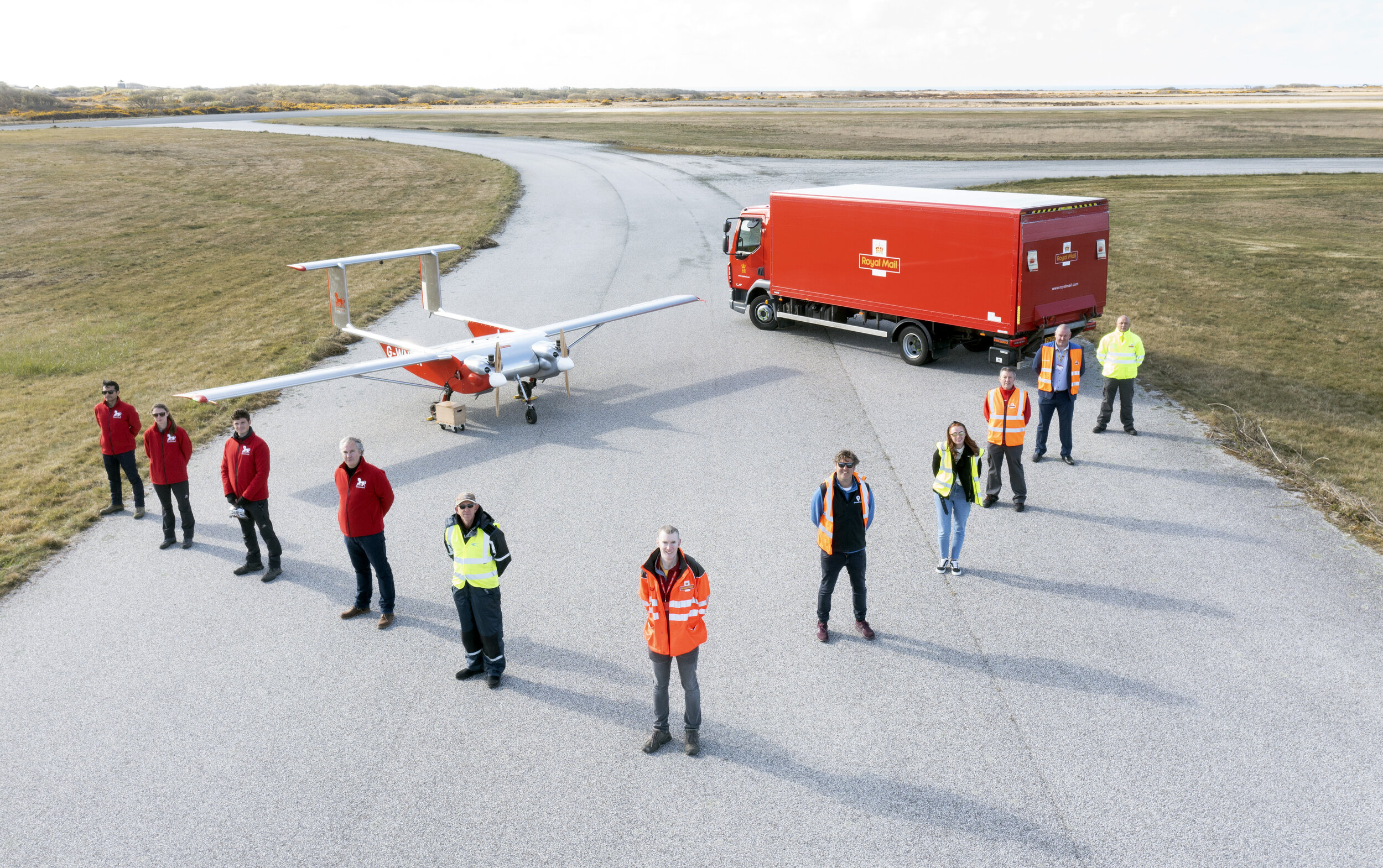 DronePrep & Royal Mail; Autonomous Drone Delivery to the Isles of Scilly