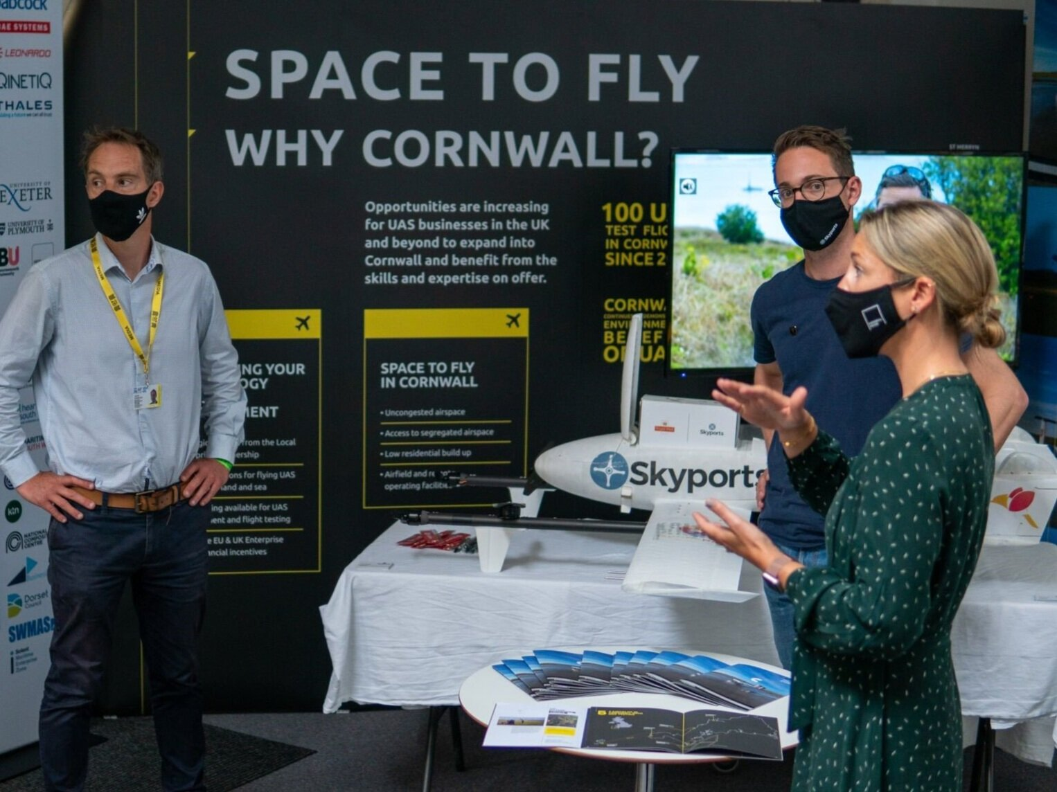 DronePrep attends G7 Technology Showcase