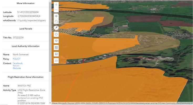 DronePrep Map Land Ownership