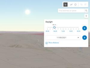 Map Daylight Tool